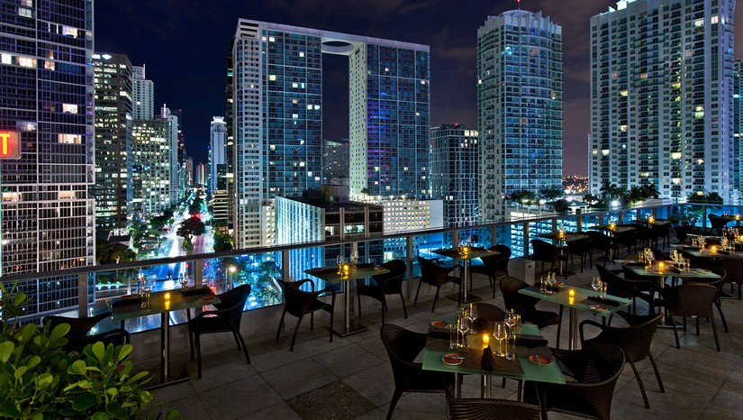 Miami rooftop bars