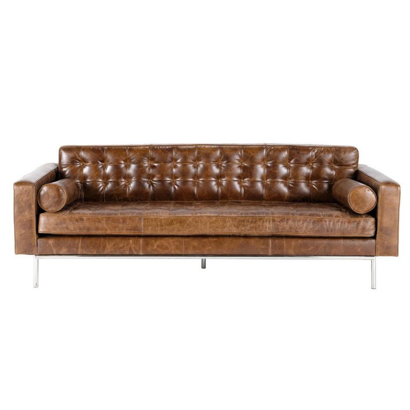 Modern Interior Design Tips 10 Best Tan Leather Sofas1