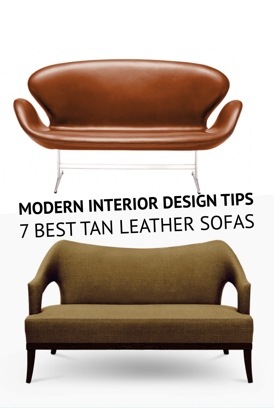 Modern Interior Design Tips 7 Best Tan Leather Sofas U2013 Inspirations And  Ideas
