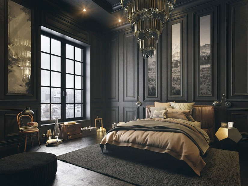 luxurious bedroom design