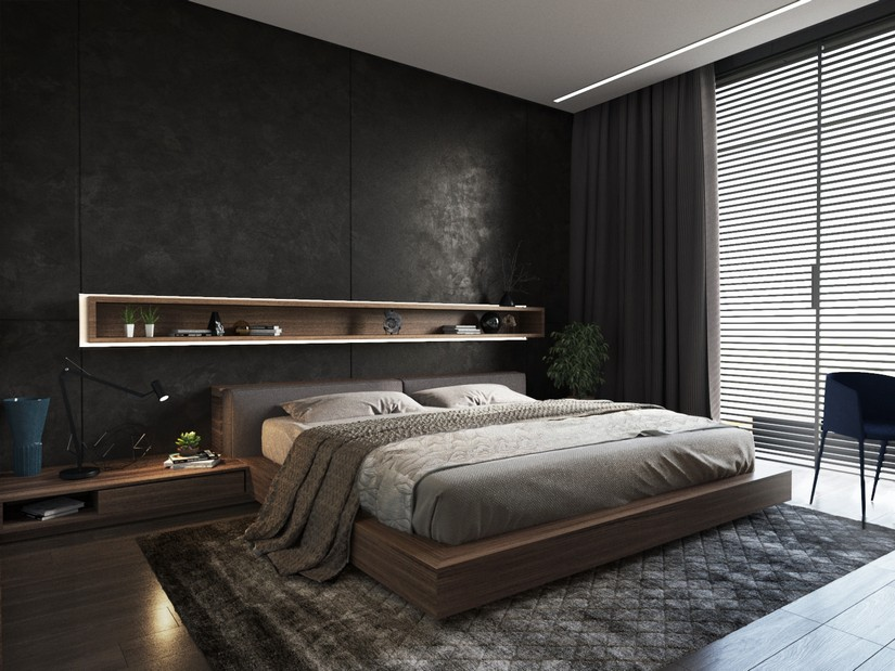 bedroom dcor ideas - Mens Bedroom