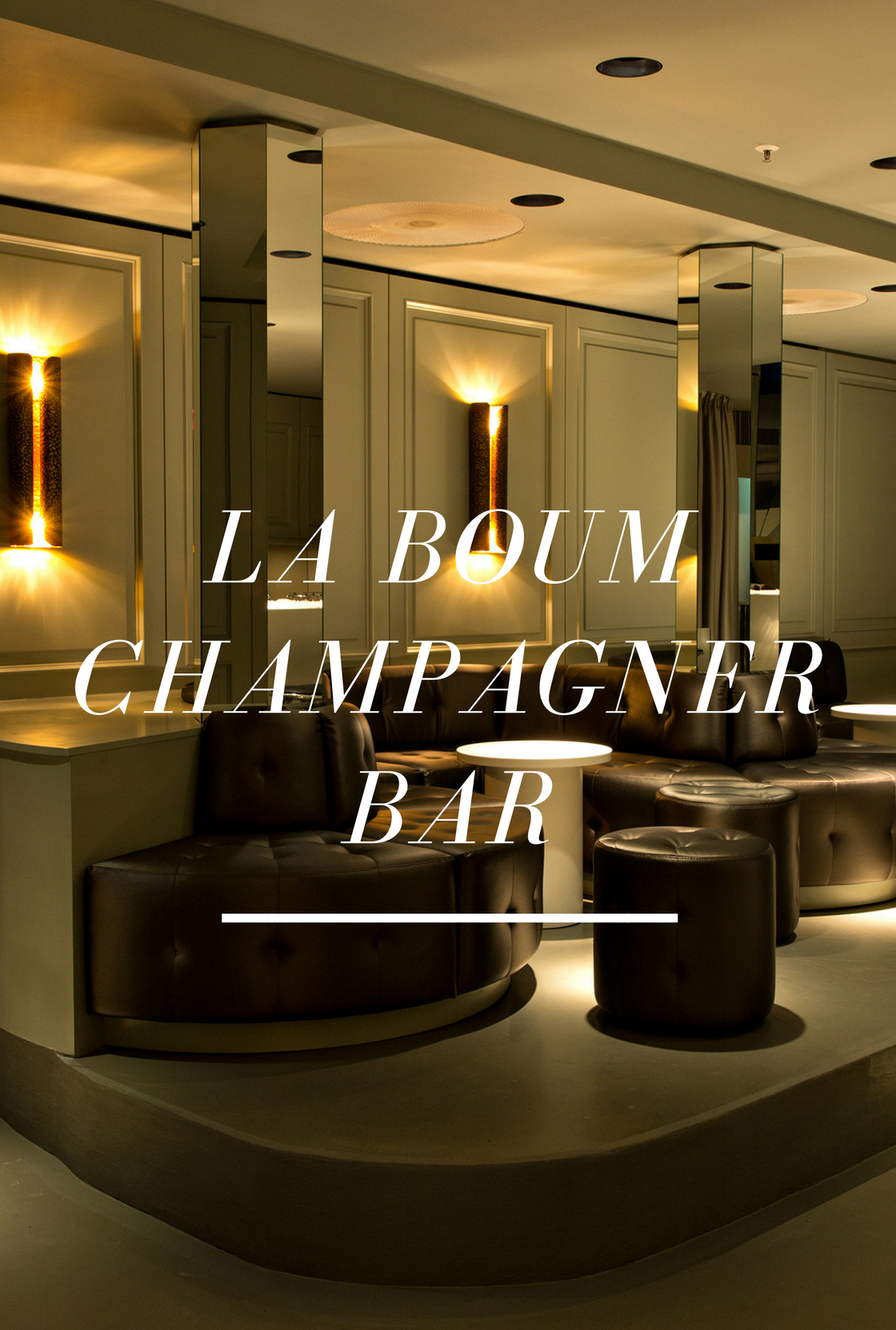 Find The La Boum Champagner Bar In Frankfurt