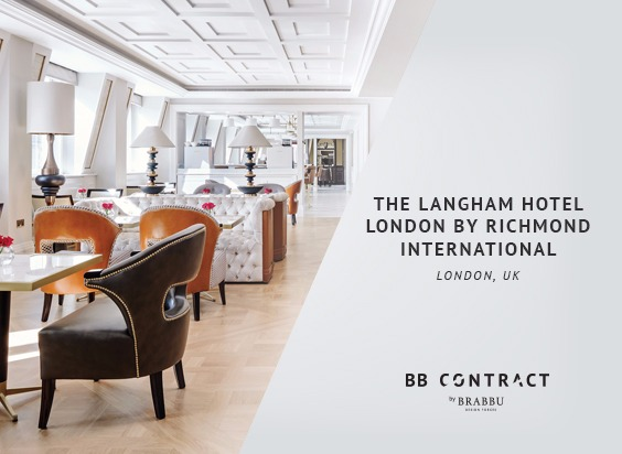 The Langham isaloni 2019 iSaloni 2019: Meet Some of the Most Interesting Brands on Day 1! The Langham Hotel London by Richmond International London