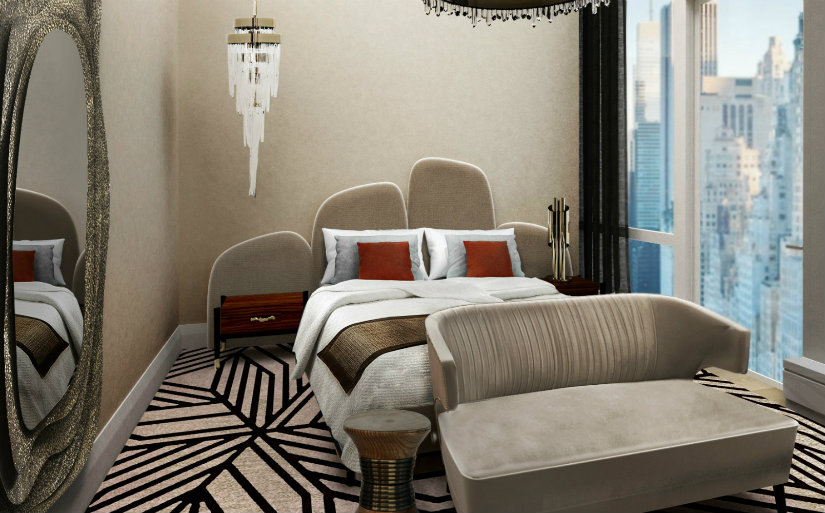 Hotel room luxury ideas at New York