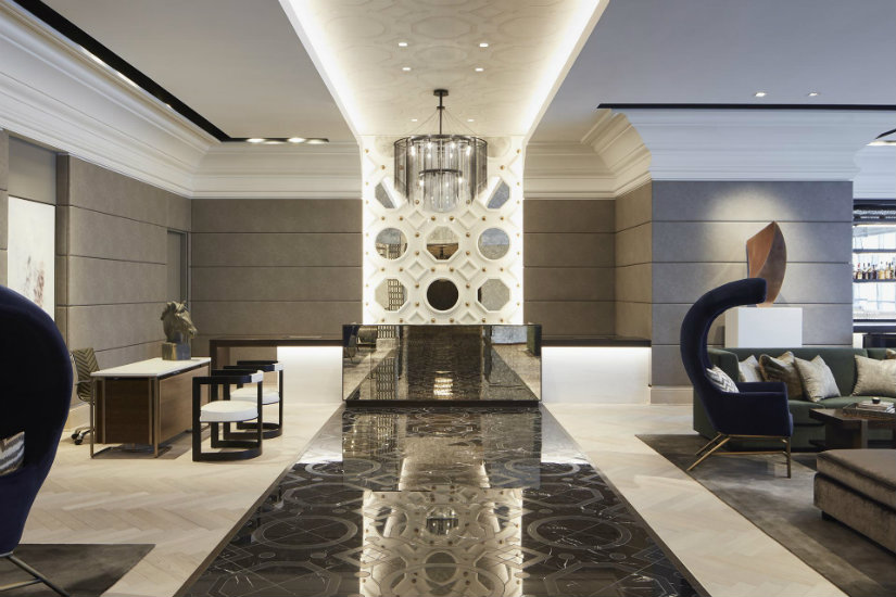 10 trendy Hotel Interior Design by Simeone Deary Design Group