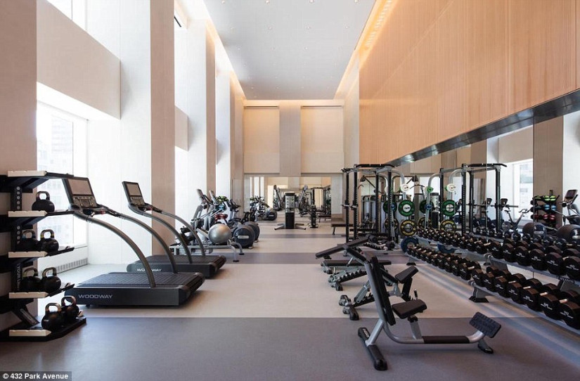 432 park avenue new york gym