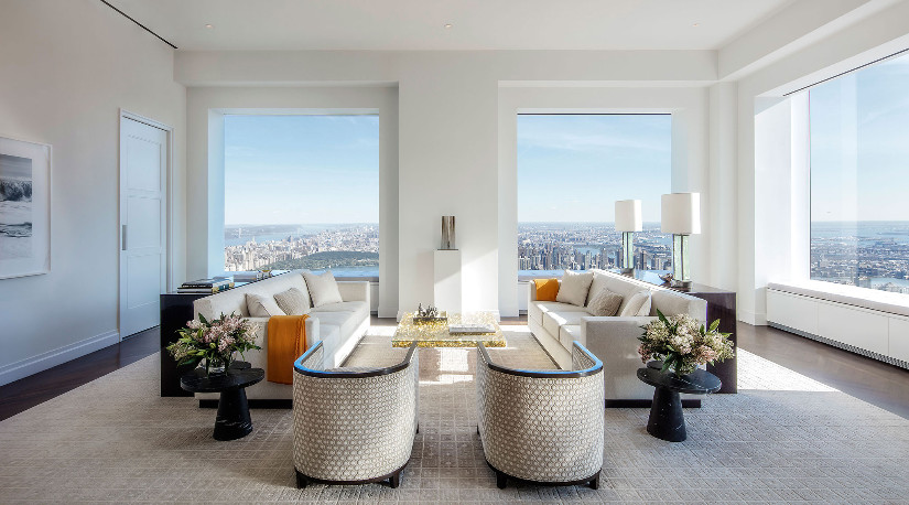 432 park avenue new york living room