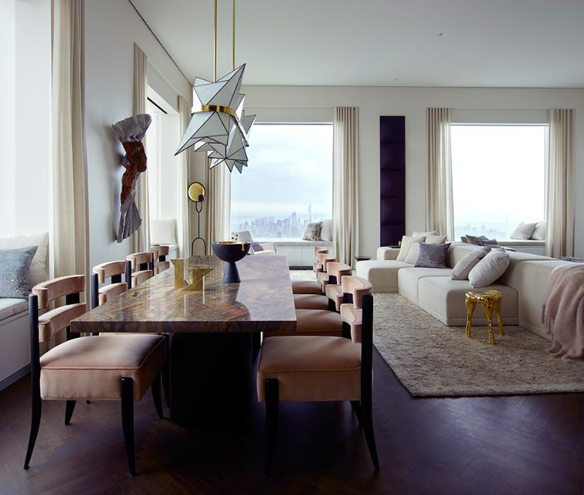 432 park avenue new york table