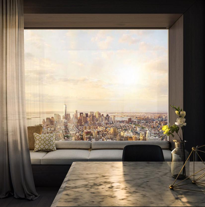 432 park avenue new york window Molteni