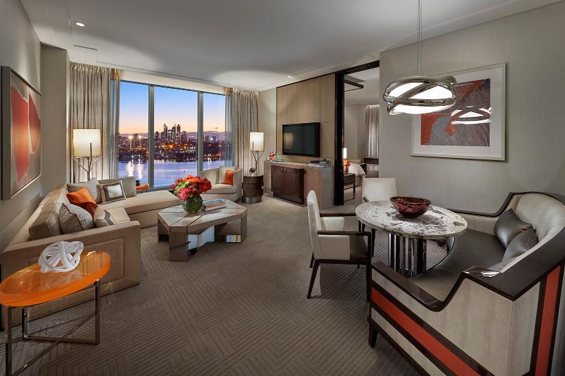 Deluxe Villa, Crown Towers Perth 2018 winners suite