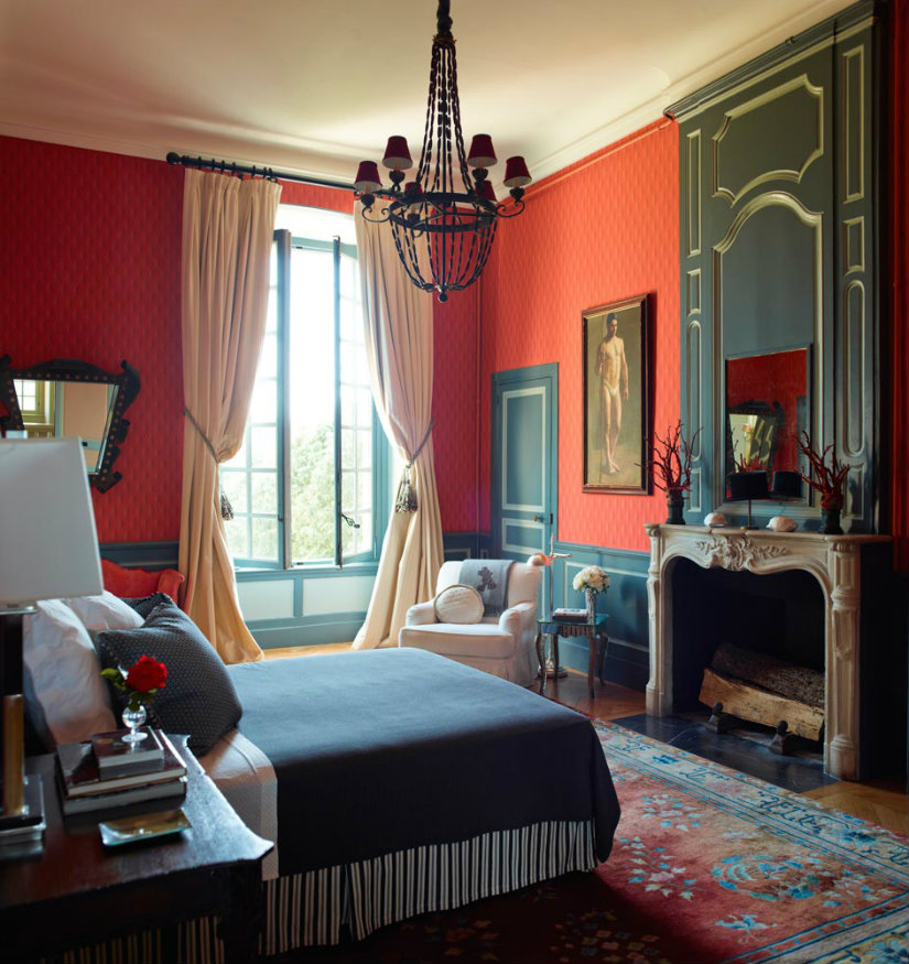 Hotel Château du Grand-Lucé luxury design hotel
