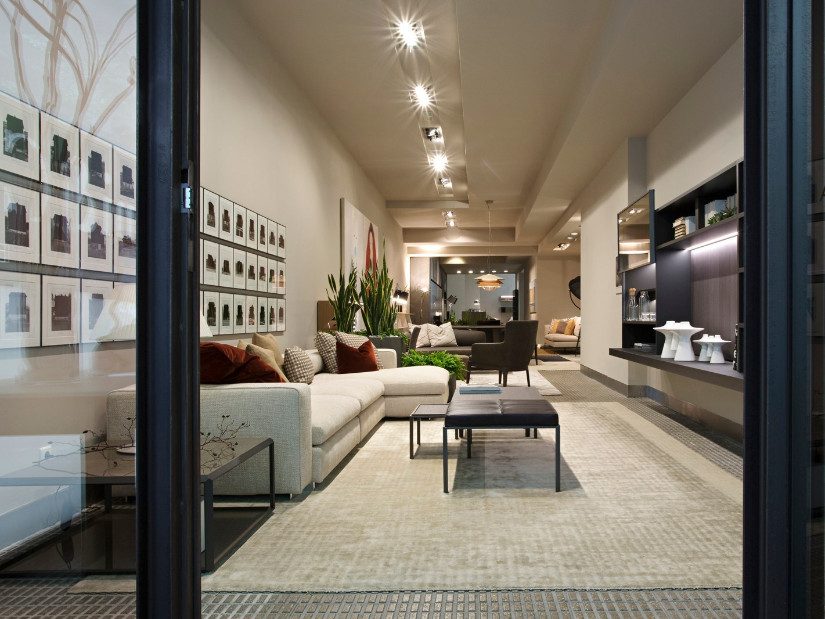 London furniture stores Molteni Dada flagship store