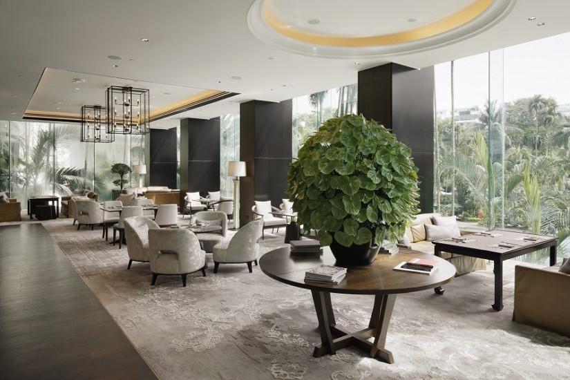 Shangri-La Hotel Singapore lobby 2018 winners