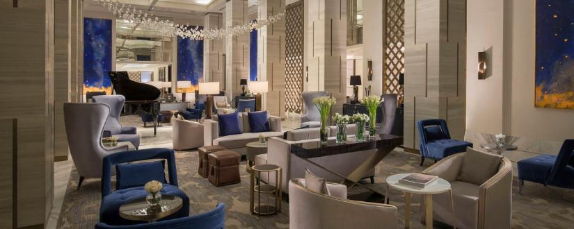 St Regis Astana 2018 winners lobby