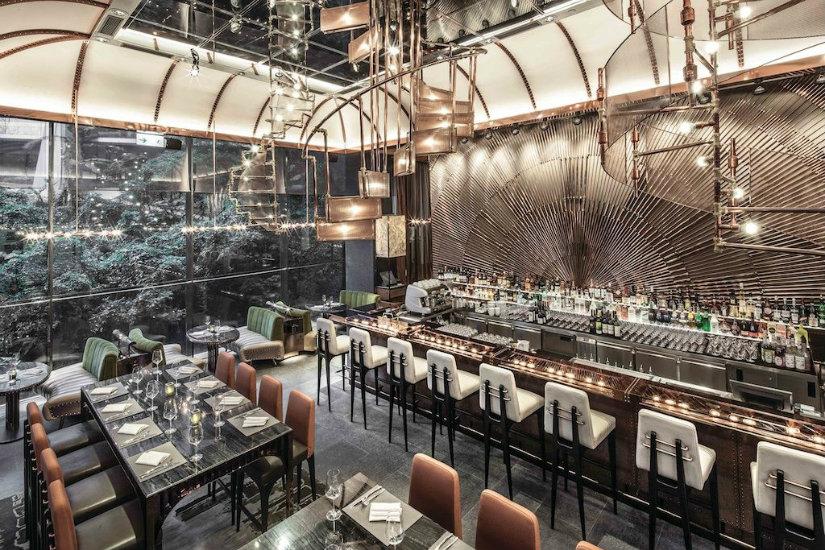Ammo restaurant Joyce Wang restaurant interior design
