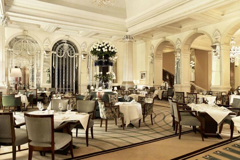 Claridges London art deco luxury hotel