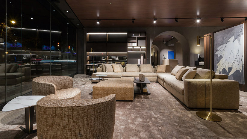 London furniture stores Molteni showroom