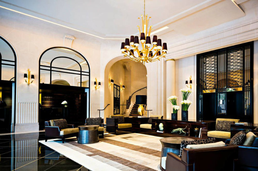 Prince de Galles luxury hotel