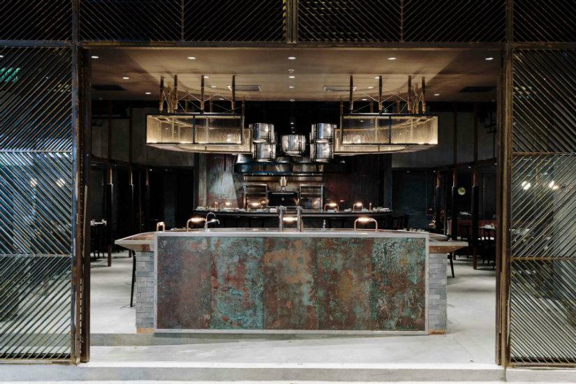 Rhoda Restaurant Joyce Wang interior design