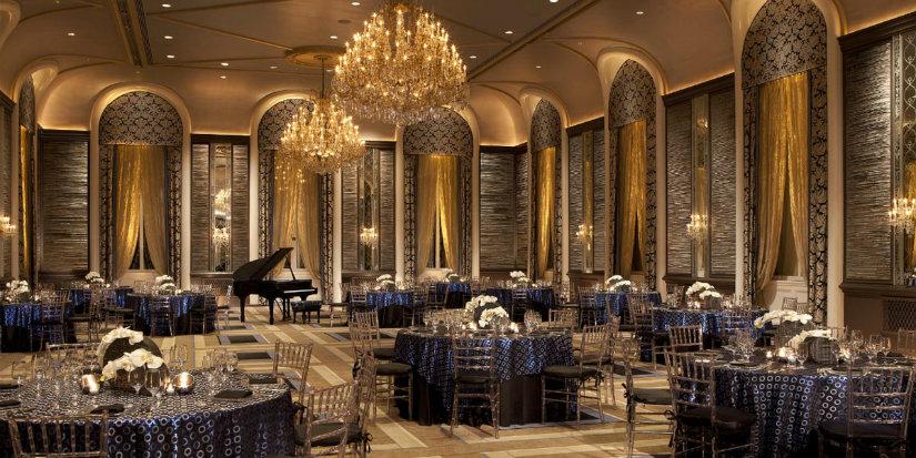 The Waldorf Astoria art deco hotel new york