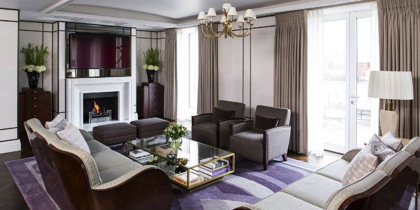 The beaumont hotel art deco design