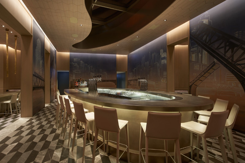 Z Bar: Discovery Yabu Pushelberg's interior design