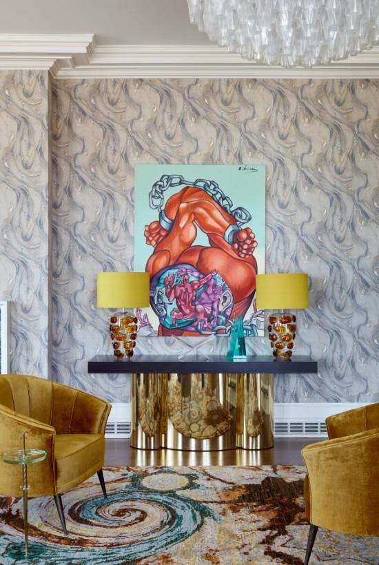 New York boutique hotel ideas - Ananiev interiors raise the level