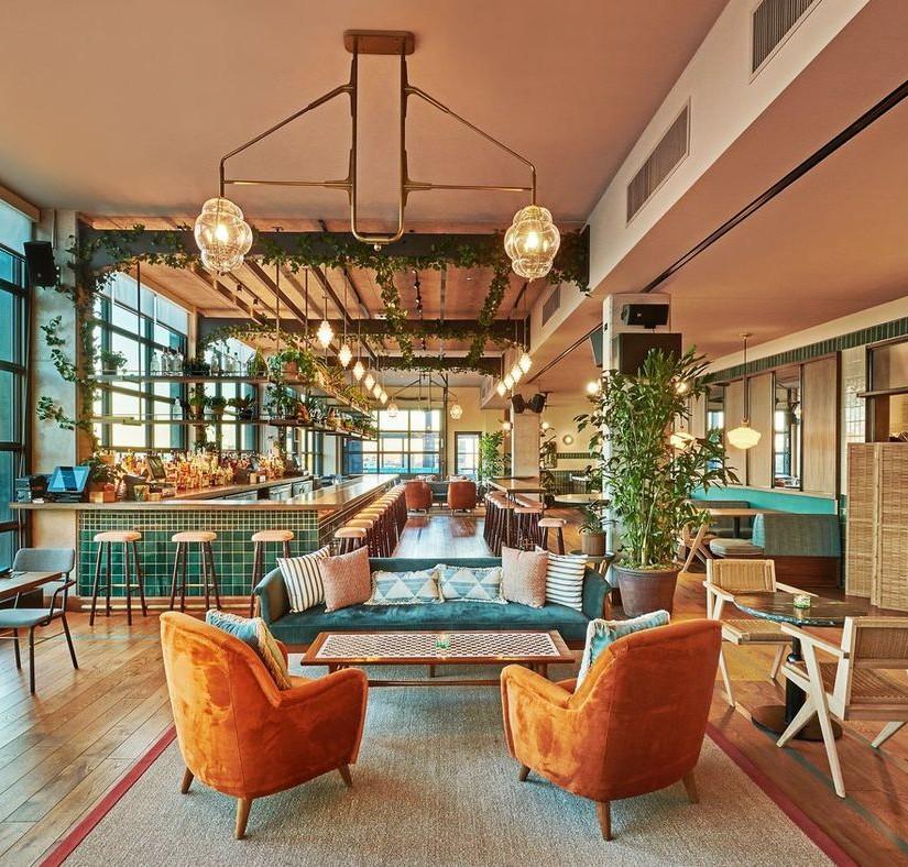 Modern Interior Design Restaurant by AvroKO