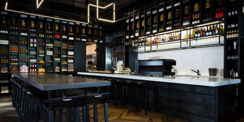 HBA interior design project - modern restaurant in Melbourne