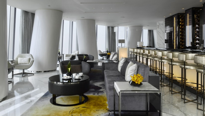 Four Seasons restaurant - HBA interior design project