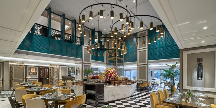 HBA restaurant interior design project - Taj Hub