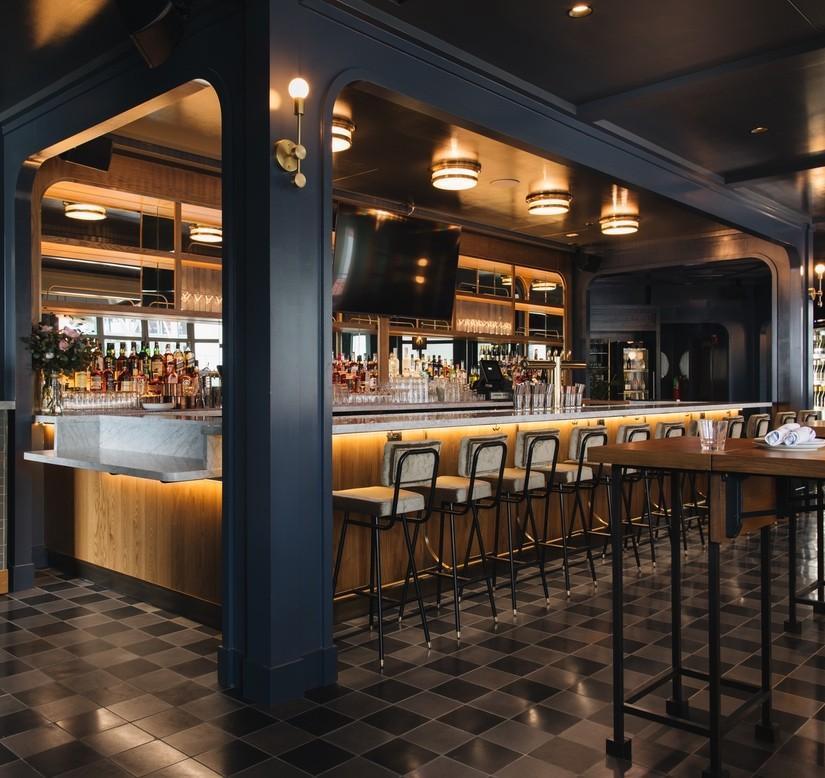Modern Bar Interior Design by Avroko