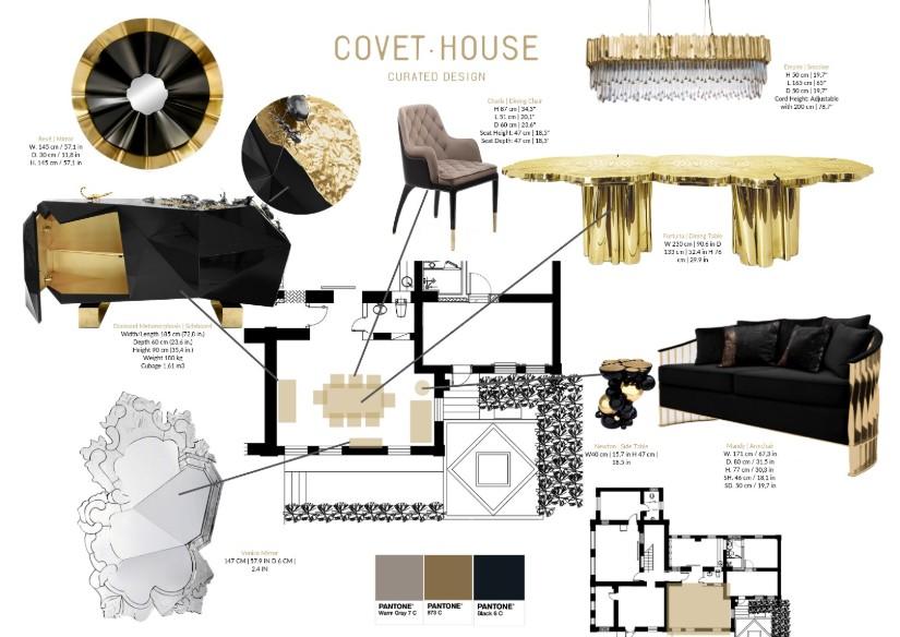 Golden Metallics - 2020 Hotel Decor Trends