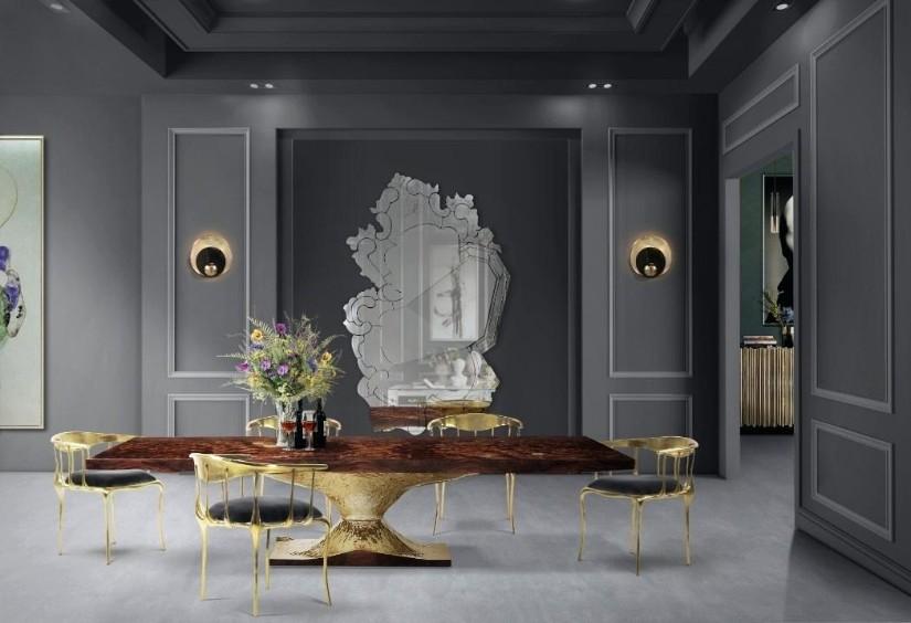 Venice Mirror - Golden Metallics decor trend 2020 - Inspiration