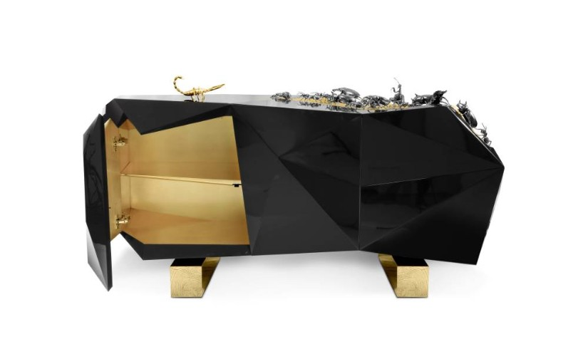 Gold Metallic trend 2020 - Sideboard