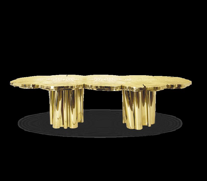 Fortuna Dinning Table - Golden Metallics trend 2020