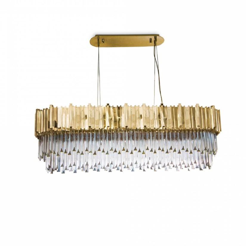 Suspension Lamp - Golden Metallics trend 2020