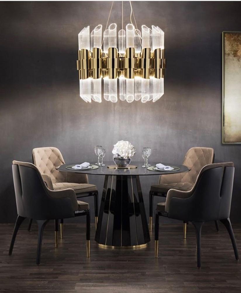 Charla Dining Chair - Golden Metallics decor trend 2020 - Inspiration