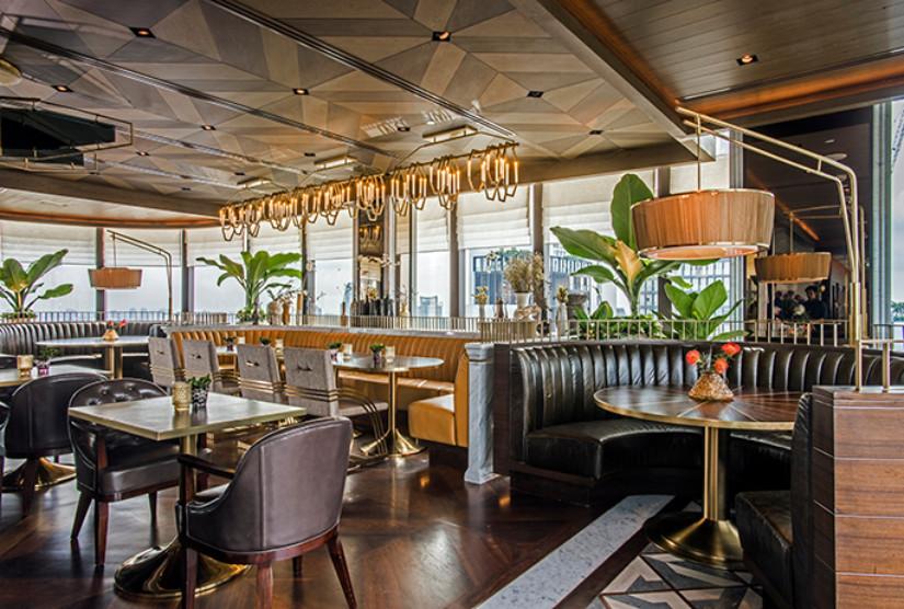 Modern Interior Design Bar and Restaurant by Avroko