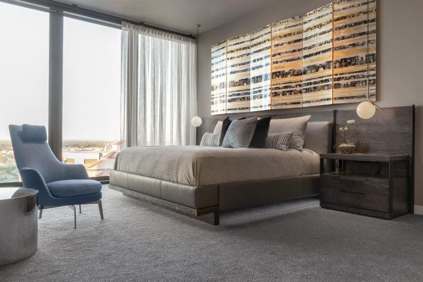Bedroom Sacramento Penthouse