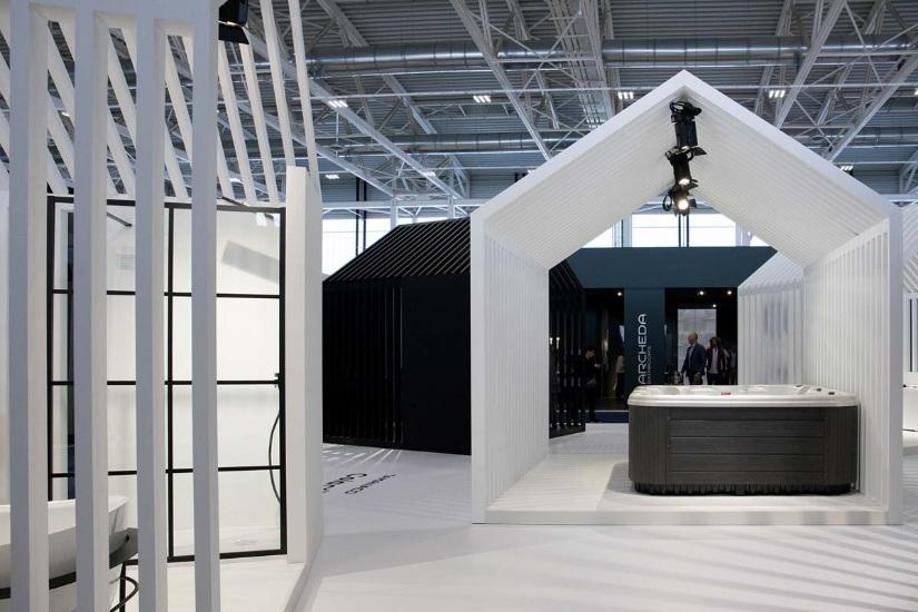 Cersaie 2019 exhibition space