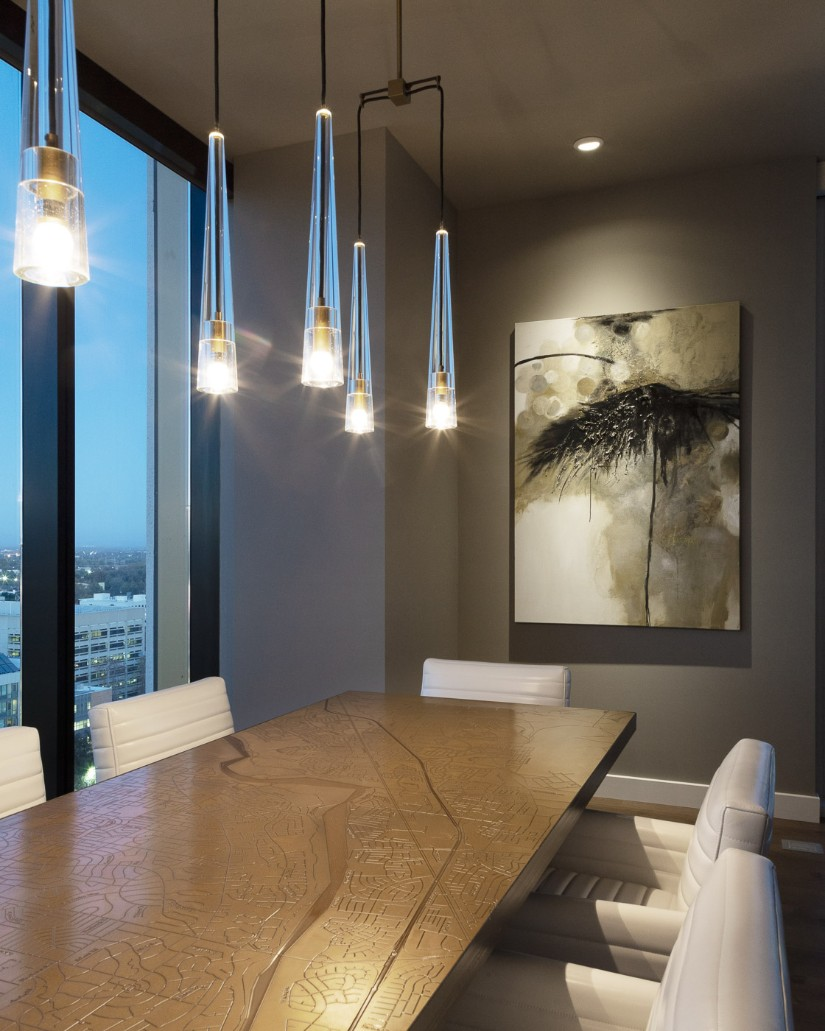 Dining room Sacramento Penthouse