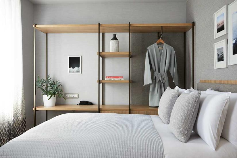 Inhabit Hotel Bedroom
