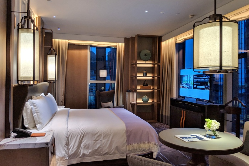 St. Regis Hong Kong Bedroom
