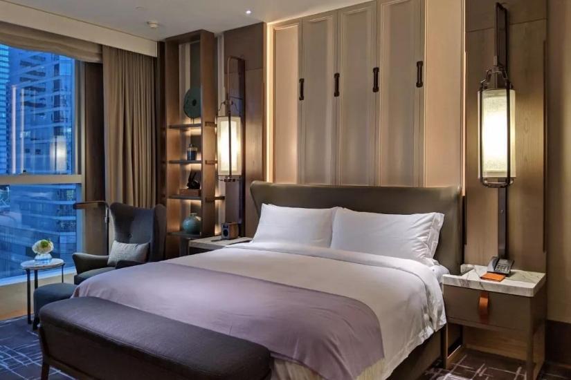 St. Regis Hotel Bedroom