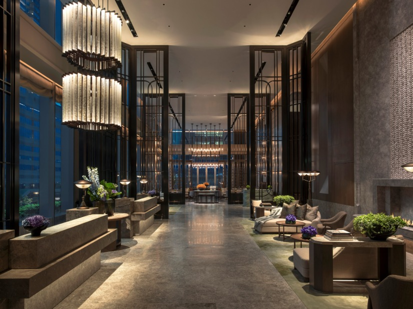 St Regis Hong Kong Personalized Modern Interior Design Project