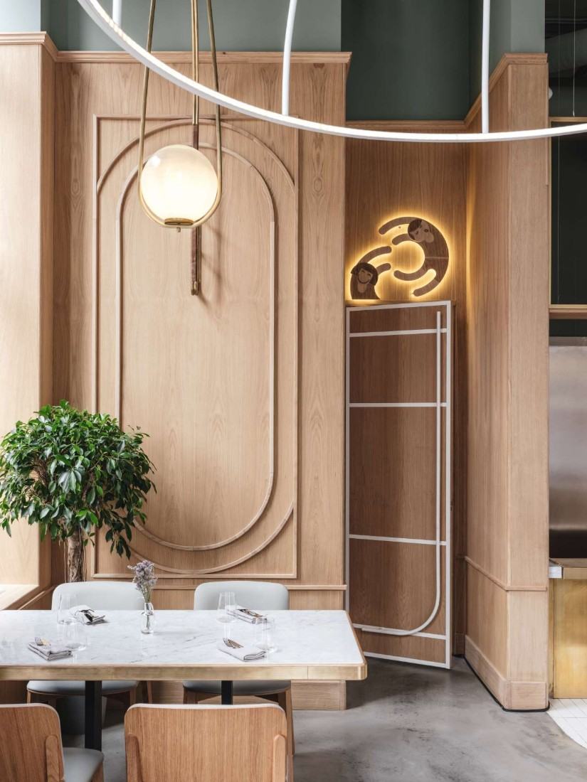 Trendy Restaurant in Moscow