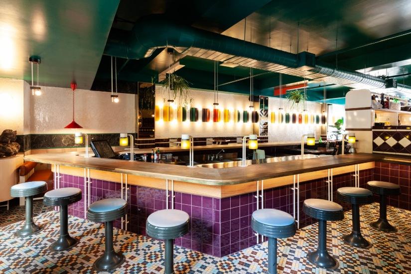 Vinvinvin bar Montreal Interior Design