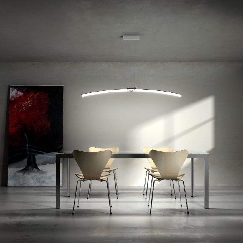 Arc Suspension Light Florian Light