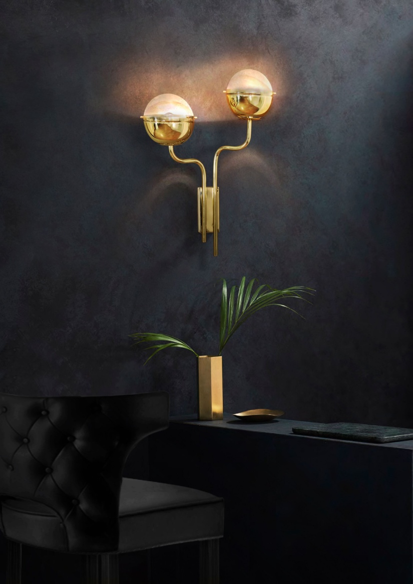 Brabbu Contract, Niku Wall Lamp